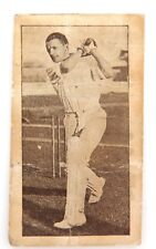 ".c1932 RARE DON BRADMAN ALLENS ""BRADMAN'S RECORDS"" CARD NO 4."