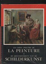 Les Chefs d'Oeuvre de la Peinture II. Lombard 1957. Le Timbre Tintin.