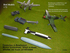 Deutsche A-Bomben / German A-bombs    1/72 Bird Models Resinbausatz / resin kit