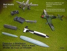 Deutsche A-Bomben / German A-bombs    1/72 Bird Models Resinbausatz / resin kit
