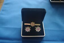 Ciff Links and Tie Slide Coldstream Guards, Militaria,  Military Jewellery