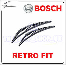 Bosch Retro Hook Fit 22/20 Metal Frame Wipers Wiper Blades OE Quality Pair