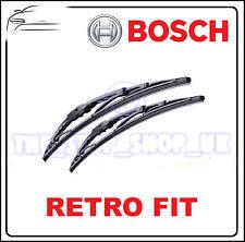 Bosch Retro Gancho para 22/20 Marco de metal limpiaparabrisas ESCOBILLAS