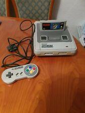Super Nintendo Entertainment System SNES + Super Mario World + 1 Controller