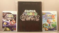 Super Mario Galaxy 1 and Super Mario Galaxy 2 (Wii) with Hardback Game Guide