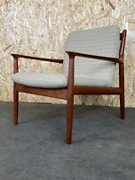 60er 70er Jahre Teak Easy Chair Sessel Grete Jalk für Glostrup Danish Design 60s