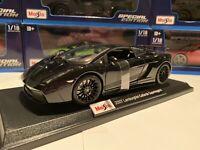 Lamborghini Gallardo Superleggera 1:18 scale Miasto Special Edition Black 2007