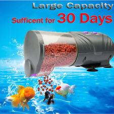 30 Days Automatic Fish Food Feeder LCD Auto Timer Pet Aquarium Tank Pond Tank