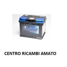 BATTERIA AUTO VEICOLI UNIBAT 60 AH 12V NO BOSCH NO FIAMM PER FIAT TIPO 2.0 16V