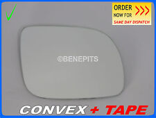 For VW LUPO 1998-2005 Wing Mirror Glass CONVEX  Right Side + STRONG TAPE /1019