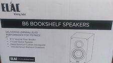 """ELAC B6 Debut Series 6.5"""" Bookshelf Speakers by Andrew Jones (Pair)"""