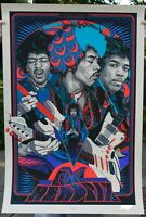 Jimi Hendrix Tyler Stout screen print Dark Hall Mansion limited edition sold out