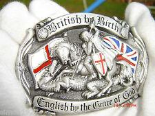 British by birth belt buckle