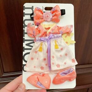 Authentic Shanghai Disney Outfits Valentines Sakura Dress Nuimos Change Costume