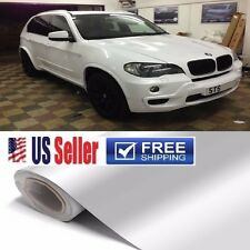"High GLoSS White Vinyl Wrap Sticker Film Sheet 60""x36"" ""BUBBLE FREE"" 3ftx5ft"