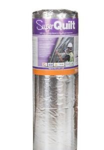 YBS SuperQuilt Reflective Multifoil Insulation 12m² - Roof, Wall & Floor