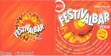 CD Audio Festival Bar 2004 - Compilation ROSSA - doppio CD