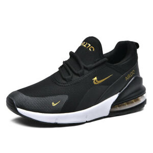 Mens Womens Trainers Sports Shoes Casual Walking Running Air Cushion Sneakers UK