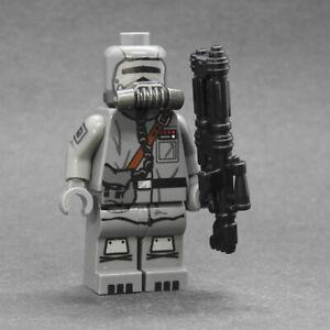 Custom Star Wars minifigures Corvus Scout Mandalorian s2 on lego brand bricks
