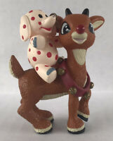 Rudolph Christmas Ornament With Misfit Toy Elephant
