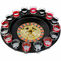 Shot Glass Roulette Game-Casino Style-16 Shot Glasses Included