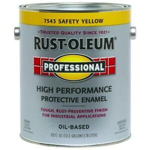 RUST-OLEUM 7543402 Safety YELLOW Oil Enamel Gallon