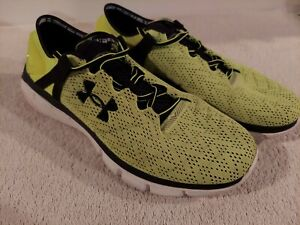Under Armour Mens Speedform Fortis 1258785-731 YELLOW Running Shoes (SIZE 10)