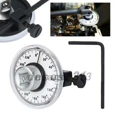 """1/2"""" Drive Torque Angle Gauge 360 Degrees Scale Wrench Engine Indicate"""