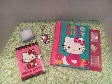 Hello Kitty Diary/Keychain/Cube/Notebook Lot