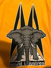 """Vintage 1980's SMA World Industries Mike Vallely """"Elephant"""" T-Shirt"""