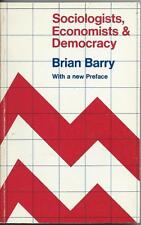 Sociologists, Economists & Democracy by Brian Barry (1978)