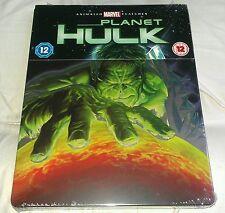 New Marvel Planet Hulk Blu-ray Steelbook Zavvi Exclusive Animation