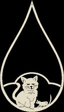 Klöppeln Motivtropfen Katze Maus Klöppelbrief Fensterbild NEUHEIT