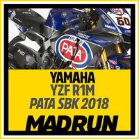 Kit Adesivi Yamaha R1 SBK Pata 2018 - High Quality Decals