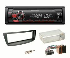 Pioneer MVH-S110UB USB MP3 FLAC Autoradio AUX Einbauset Toyota Aygo Citroen C1 P