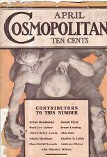 1907 Cosmopolitan April - Pool Hall gamblers; Nazimova, Doro, Walsh, Marlowe