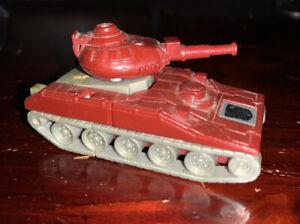 Vintage Takara 1984 Transformers G1 Autobot Japan Warpath Tank Used Minibot