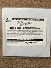 AMY WINEHOUSE - BACK TO BLACK THE ALBUM REMIXES- CD1 Promo Disc