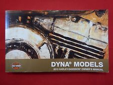 2013 HARLEY DAVIDSON DYNA MODELS OWNERS MANUAL 2014 TWIN CAM 96 1585 103 1690