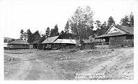 Frashers Fotos Real Photo Postcard Butlers Lodge in Greer, Arizona~110955