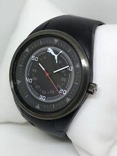 Puma Co-Driver Quartz Analog Slim Watch PU911001008 Black