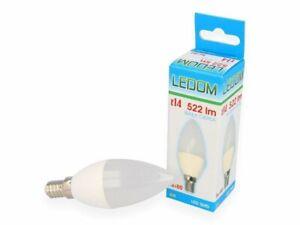 LEDOM 6W C37 Warm White/Neutral White Candle-Shape Replaces 40W 230V 522 Lumens