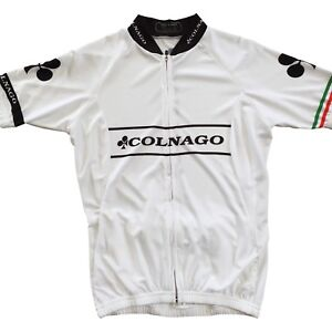 New White Colnago Donna Cycling Italian Women Jersey (Made in Italy) All sizes