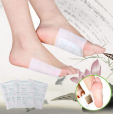 10 Stk Detox Fuß Patch Toxin Entfernung Entgiften sebstklebend fit halten