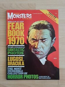 Famous monsters 1970 yearbook nice condition