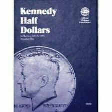 Whitman Kennedy Half Dollar Coin Folder Book #1 1964-1985 #9699