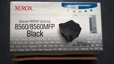 GENUINE XEROX Phaser Ink 8560 8560MFP Black Inks 108R00726 New 3 Pack VAT inc