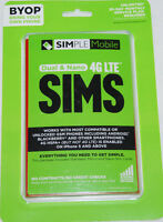 Simple Mobile Bring Your Own Phone BYOP SIM Activation Kit NEW