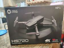 4K Drone Holy Stone HS720 with UHD Camera 5G Brushless FPV GPS  Quadcopter +CASE