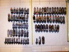 77 TUBES 6CD6A 6DQ6B 6GW6 6BK4B 6BK4B 6DQ6  RCA GE SYLVANIA LOT